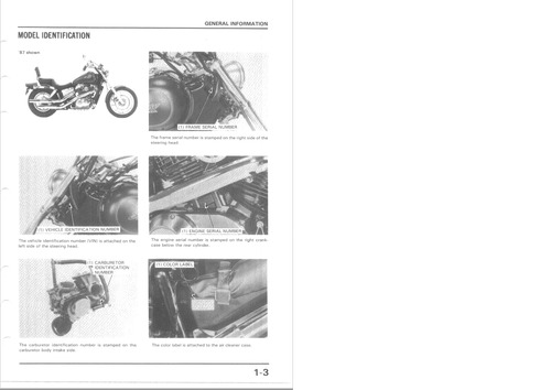 Product picture HONDA VT1100C 87-96